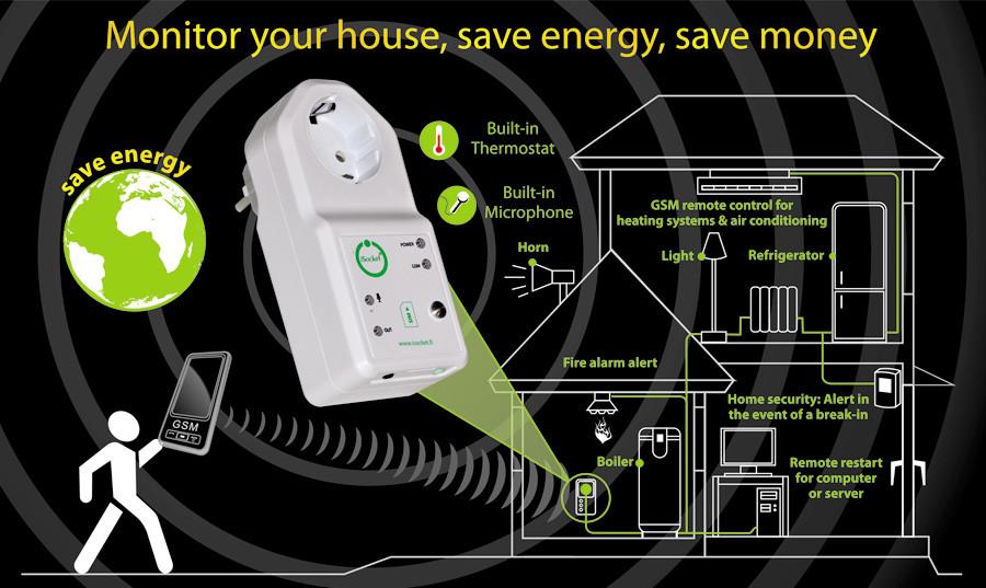 isocket - télécommande gsm pour chauffage climatiseur à commande